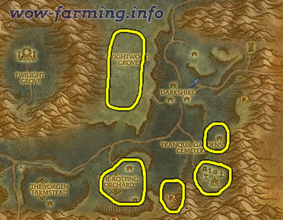 Image Result For Wow Best Place To Farm Linen Cloth