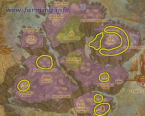 Farming Netherweave in Netherstorm