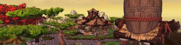 The Wandering Isle - Mists of Pandaria