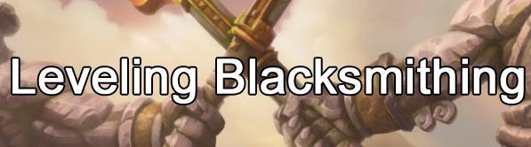 Leveling Blacksmithing