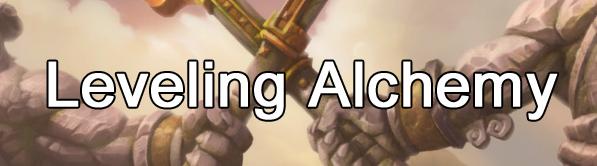 MoP Alchemy - Leveling